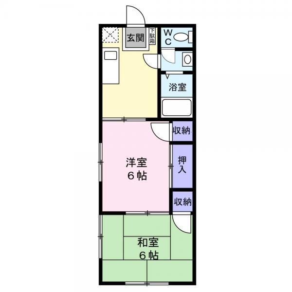 アパート 佐倉市上志津 京成本線ユーカリが丘駅 4万円