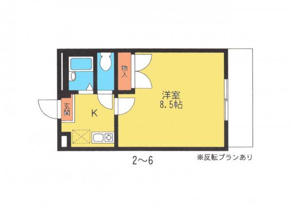 アパート 佐倉市小竹1055-1 京成本線ユーカリが丘駅 2.7万円