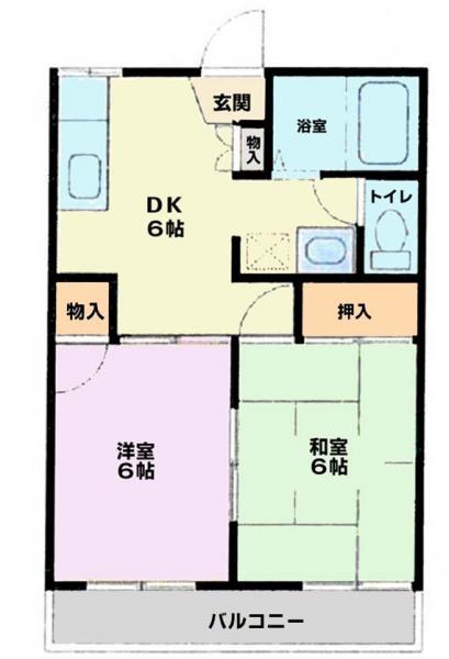 アパート 佐倉市江原台2丁目14-5 京成本線京成臼井駅 3.4万円