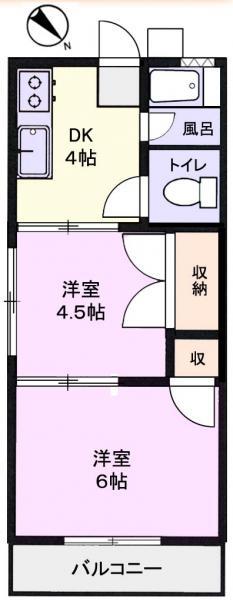 アパート 千葉県佐倉市井野1357-9 京成本線ユーカリが丘駅 3万円