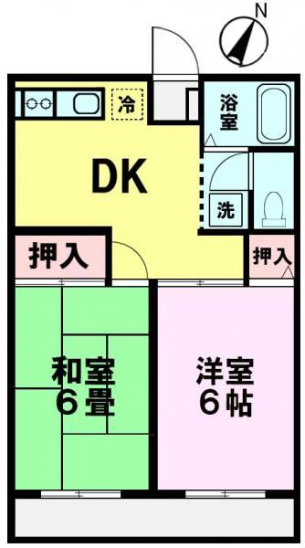 アパート 千葉県佐倉市上座528-11 京成本線ユーカリが丘駅 5.3万円