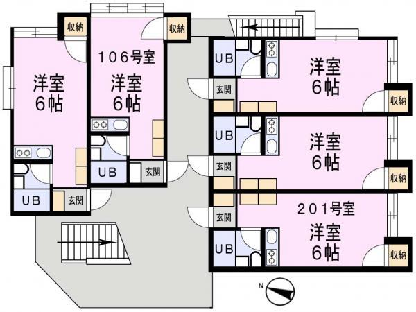 アパート 千葉県佐倉市上志津1825-20 京成本線志津駅 3.5万円