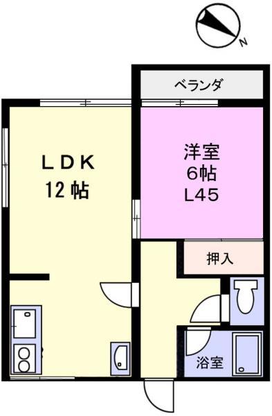 アパート 千葉県佐倉市上座515-136 京成本線ユーカリが丘駅 4.3万円