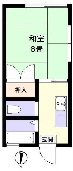 アパート 千葉県佐倉市井野1418-14 京成本線志津駅 2.5万円