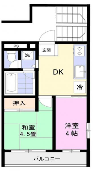 マンション 千葉県佐倉市ユーカリが丘6丁目4-7 京成本線ユーカリが丘駅 4.8万円