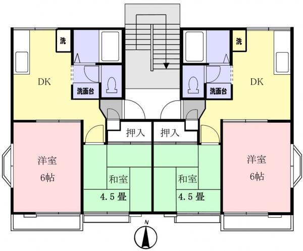 アパート 千葉県八千代市村上1735-86 東葉高速鉄道村上駅 4.5万円