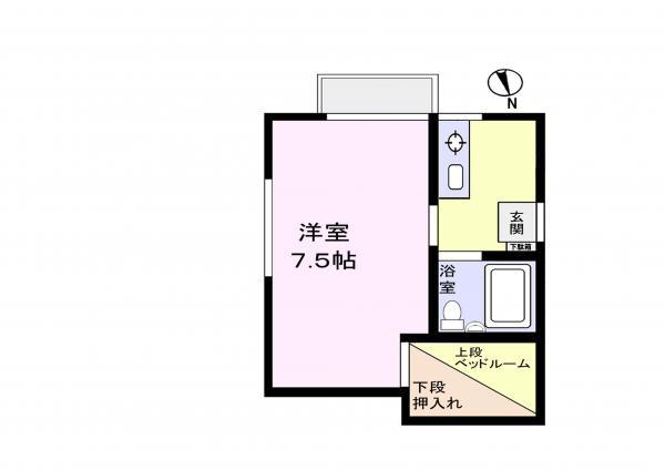 アパート 千葉県佐倉市上座570-102 京成本線ユーカリが丘駅 3.6万円