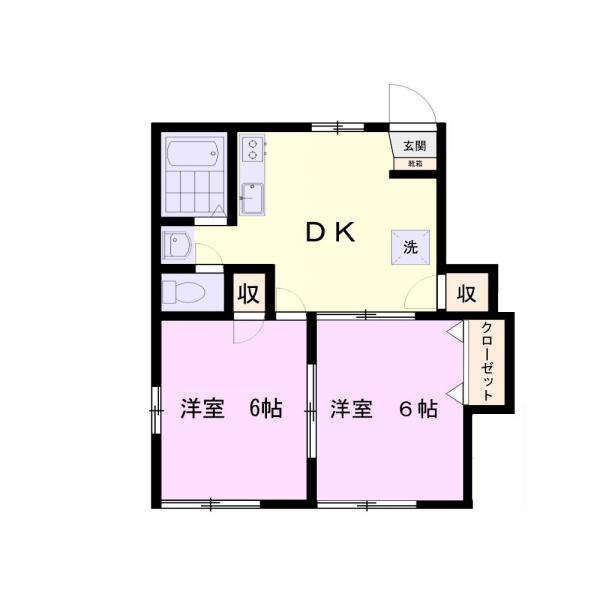 アパート 千葉県佐倉市井野1109-63 京成本線志津駅 4.5万円