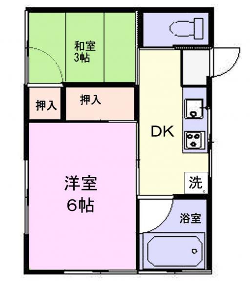 アパート 千葉県佐倉市上志津1080-141 京成本線志津駅 3万円