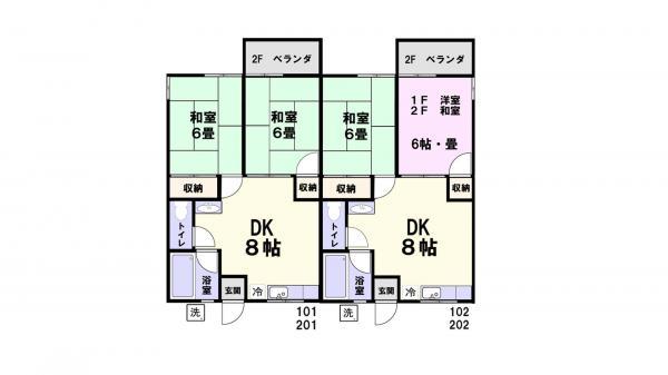 アパート 千葉県佐倉市宮前3丁目21-2 京成本線京成佐倉駅 3.8万円