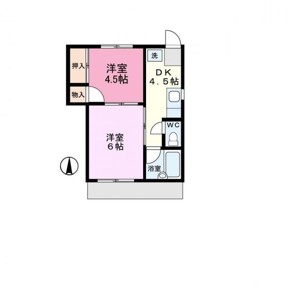 アパート 千葉県佐倉市上座515-164 京成本線ユーカリが丘駅 4.1万円