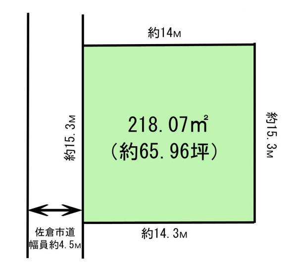 土地 千葉県佐倉市上座400-109 京成本線ユーカリが丘駅 1980万円