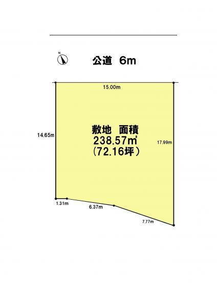 土地 千葉県佐倉市井野1084-46 京成本線志津駅 1550万円