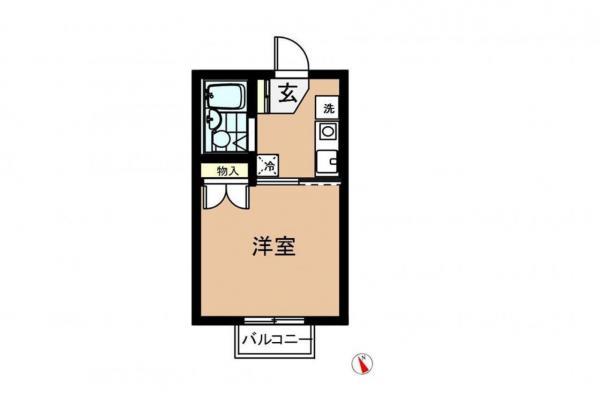 アパート 千葉県佐倉市上志津1760-162 京成本線志津駅 3.2万円