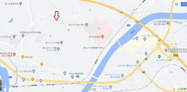 土地 津山市野介代 JR姫新線東津山駅 480万円