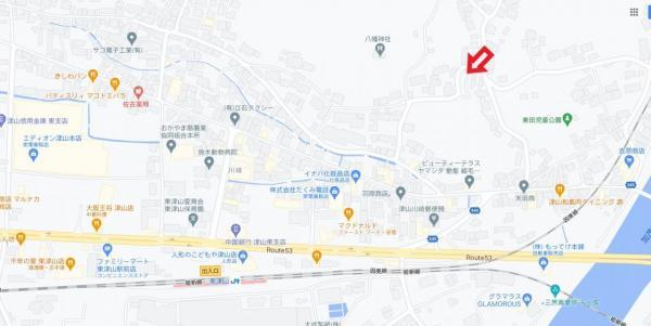 土地 津山市川崎 JR姫新線東津山駅 200万円