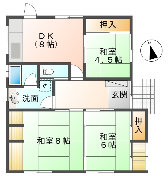 中古戸建 津山市西吉田 JR姫新線美作大崎駅 1140万円