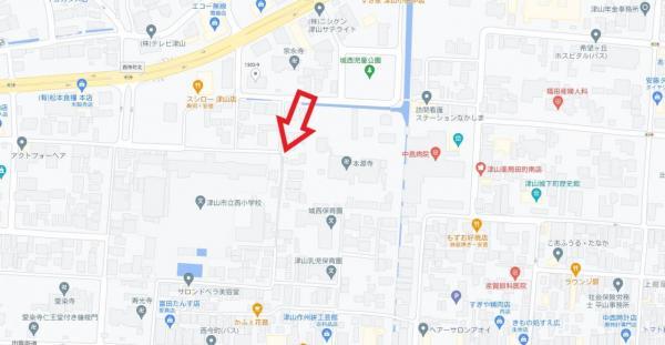 土地 津山市小田中 津山線津山口駅 140万円
