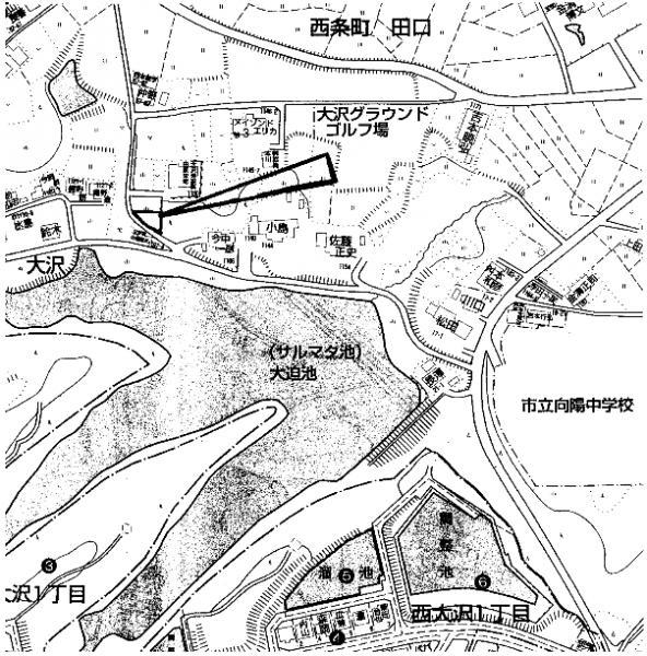 土地 広島県東広島市西条町大沢 駅 500万円