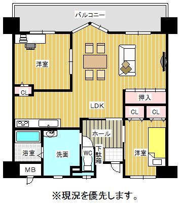 中古マンション 6-21 JR鹿児島本線門司駅 1598万円