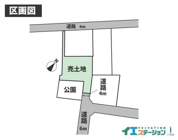 土地 防府市大字浜方 山陽本線防府駅 740万円