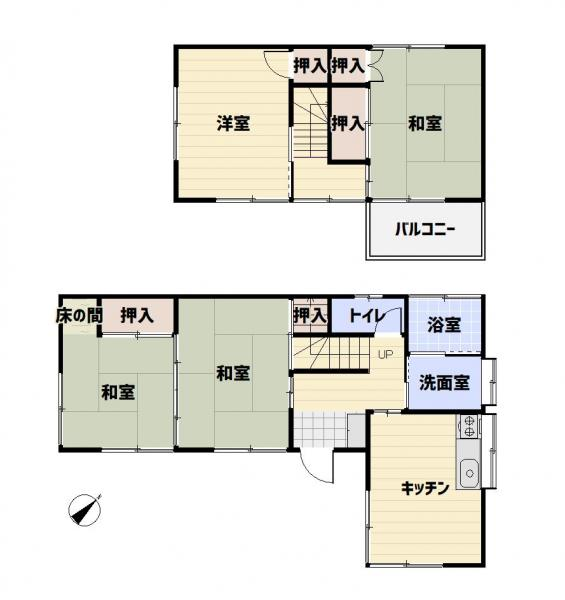 中古戸建 八街市八街い JR総武本線八街駅 800万円