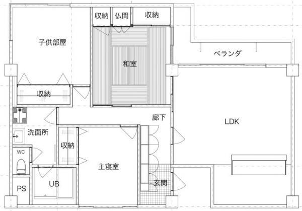 中古マンション 金沢市涌波3丁目 駅 1480万円