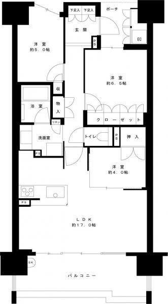 中古マンション 金沢市広岡1丁目 JR北陸本線金沢駅 4500万円