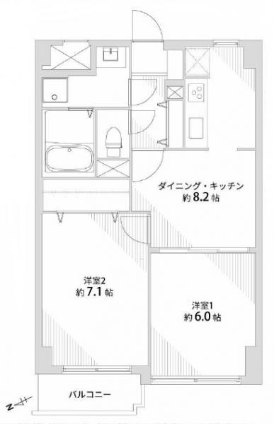 中古マンション 仙台市若林区成田町 仙台地下鉄東西線連坊駅 1590万円