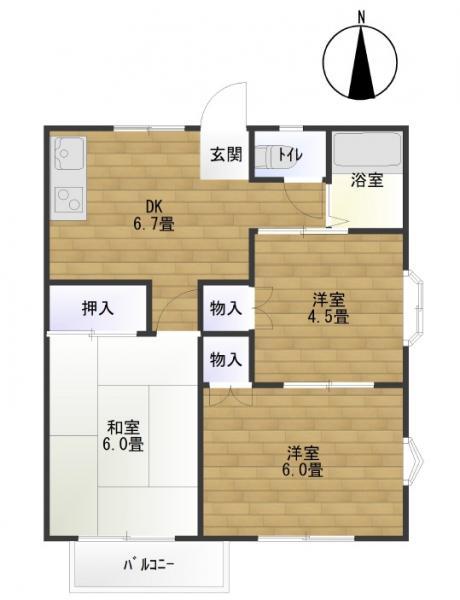 アパート 仙台市若林区かすみ町 仙台地下鉄東西線卸町駅 3800万円