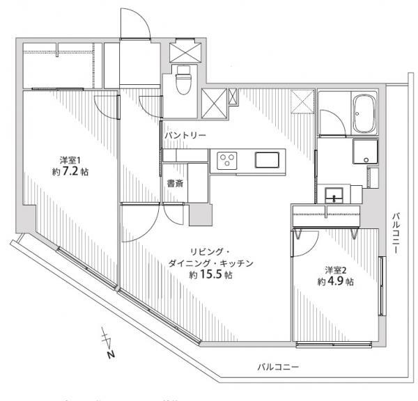 中古マンション 仙台市宮城野区鉄砲町東 JR仙石線榴ヶ岡駅 1590万円
