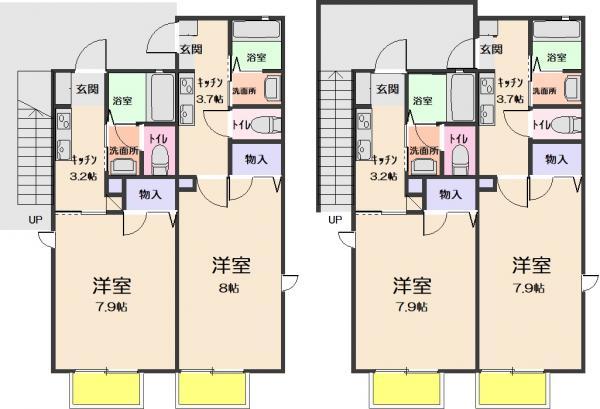 アパート 仙台市青葉区柏木2丁目5-72 JR東北本線(黒磯〜盛岡)仙台駅 4640万円