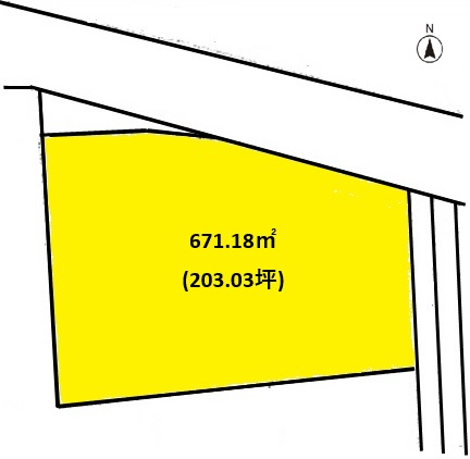 土地 宮城郡利府町春日字硯沢 JR仙石線本塩釜駅 1500万円