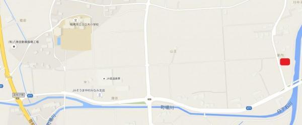 土地 福島県相馬市日下石字富内26番1 JR常磐線(いわき~仙台)相馬駅 600万円