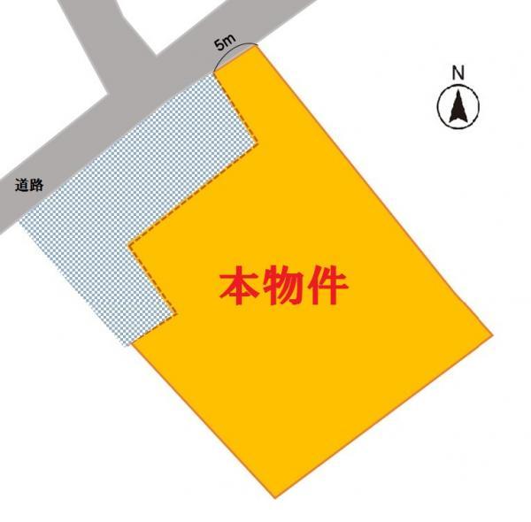 土地 福島県相馬市中村字川原町167-10 JR常磐線(いわき~仙台)相馬駅 900万円