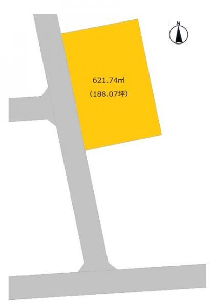 土地 福島県相馬市塚ノ町1丁目8-5 JR常磐線(いわき~仙台)相馬駅 2550万円