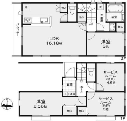 新築戸建 葛飾区堀切2丁目 京成本線堀切菖蒲園駅 4390万円