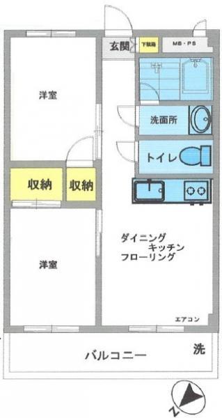 中古マンション 葛飾区白鳥4丁目 京成本線お花茶屋駅 1320万円