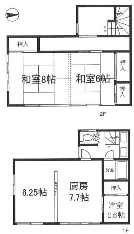 中古戸建 葛飾区小菅2丁目 京成本線堀切菖蒲園駅 1800万円