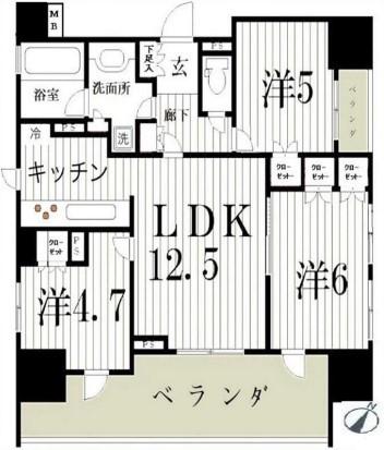中古マンション 葛飾区白鳥2丁目 京成本線お花茶屋駅 3580万円
