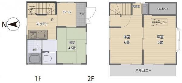 中古戸建 葛飾区四つ木1丁目 京成押上線四ツ木駅 1680万円