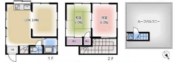 中古戸建 葛飾区四つ木5丁目 京成本線お花茶屋駅 1480万円