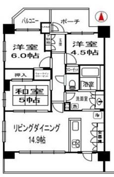 中古マンション 葛飾区堀切6丁目 京成本線堀切菖蒲園駅 3880万円