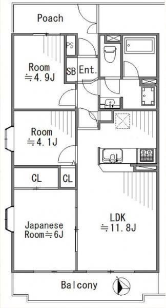 中古マンション 葛飾区東立石1丁目 京成押上線京成立石駅 2999万円