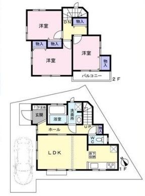 中古戸建 葛飾区宝町2丁目 京成本線お花茶屋駅 4180万円