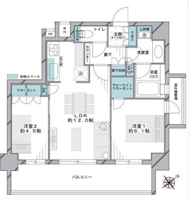 中古マンション 葛飾区白鳥2丁目 京成本線お花茶屋駅 3480万円