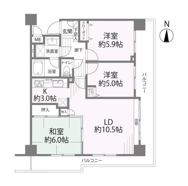 中古マンション 葛飾区四つ木2丁目 京成押上線四ツ木駅 2980万円