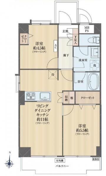 中古マンション 葛飾区立石8丁目 京成本線青砥駅 1580万円