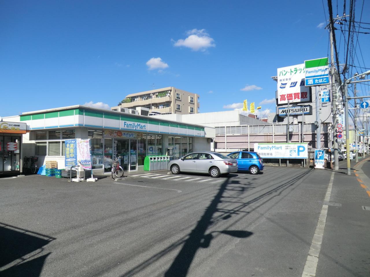ファミリーマート 田無芝久保店