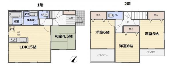 中古戸建 葛飾区細田4丁目 京成本線京成小岩駅 4080万円